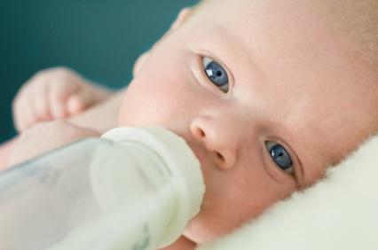 Baby w: Bottle