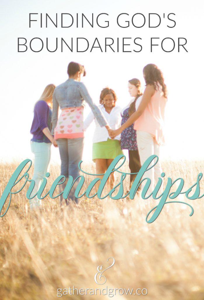 boundaries for friendships