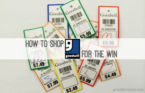 How To Shop Goodwill