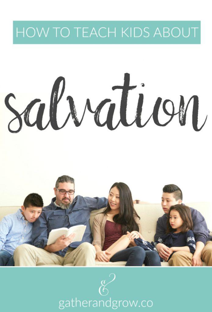 teach kids about salvation