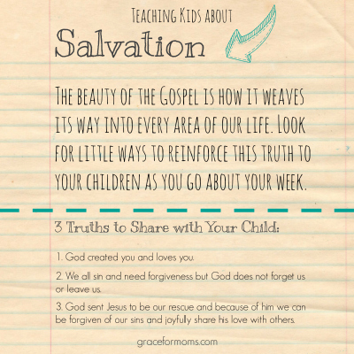 Truths to Share with Kids about Salvation