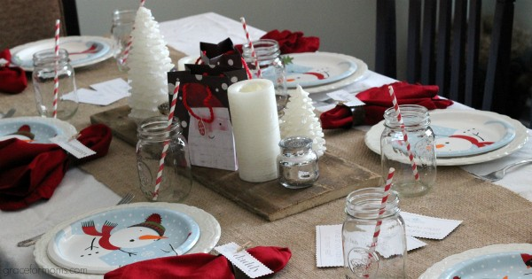 Kids Holiday Table 4