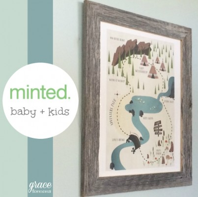 Minted Baby and Kids Line Review