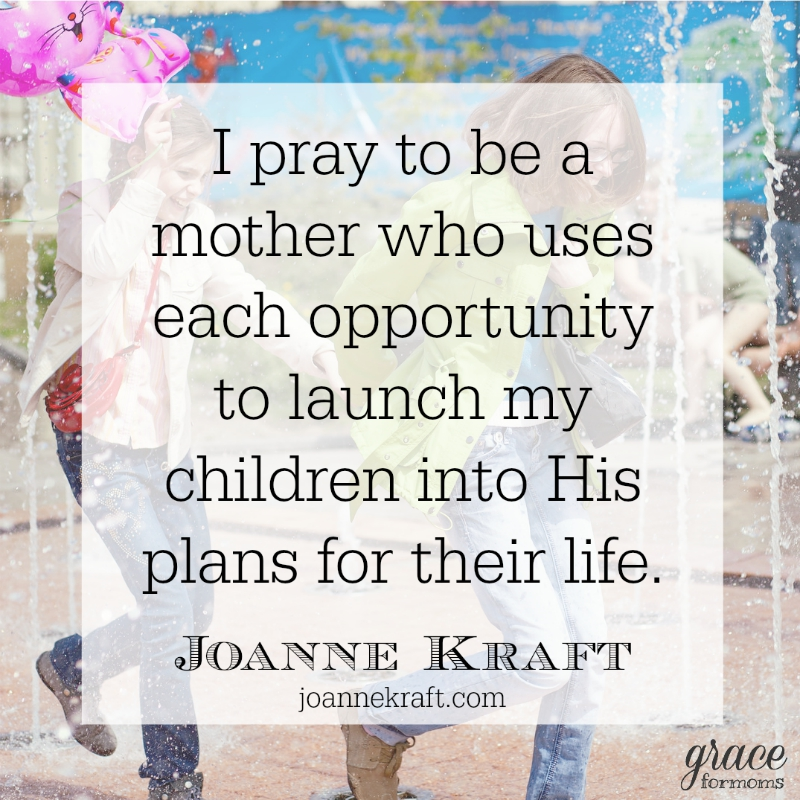 Pray to be a mother to launch your child in the future