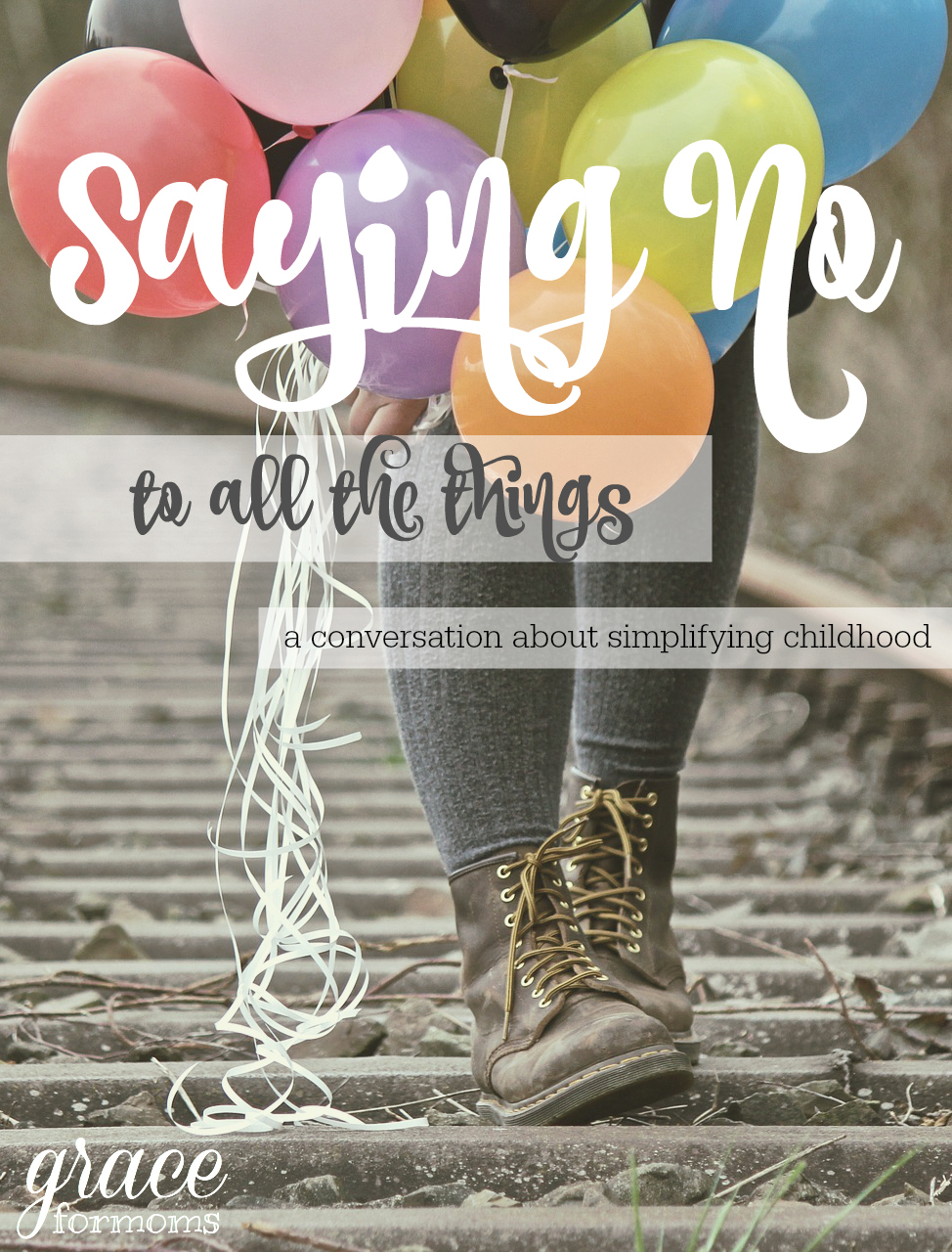 Saying No To All The Things, a conversation about simplifying childhood