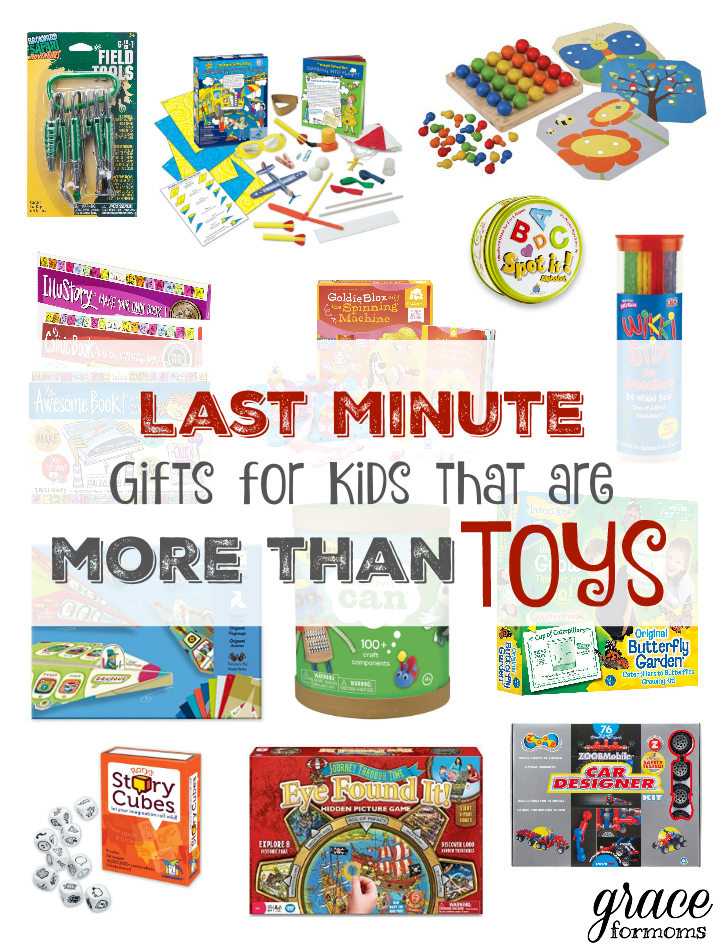 Last Minute Gifts for Kids that are More than Toys