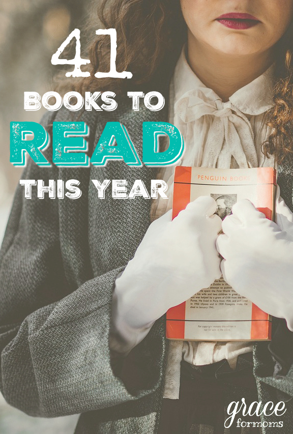 41 Books to Consider Reading this Year