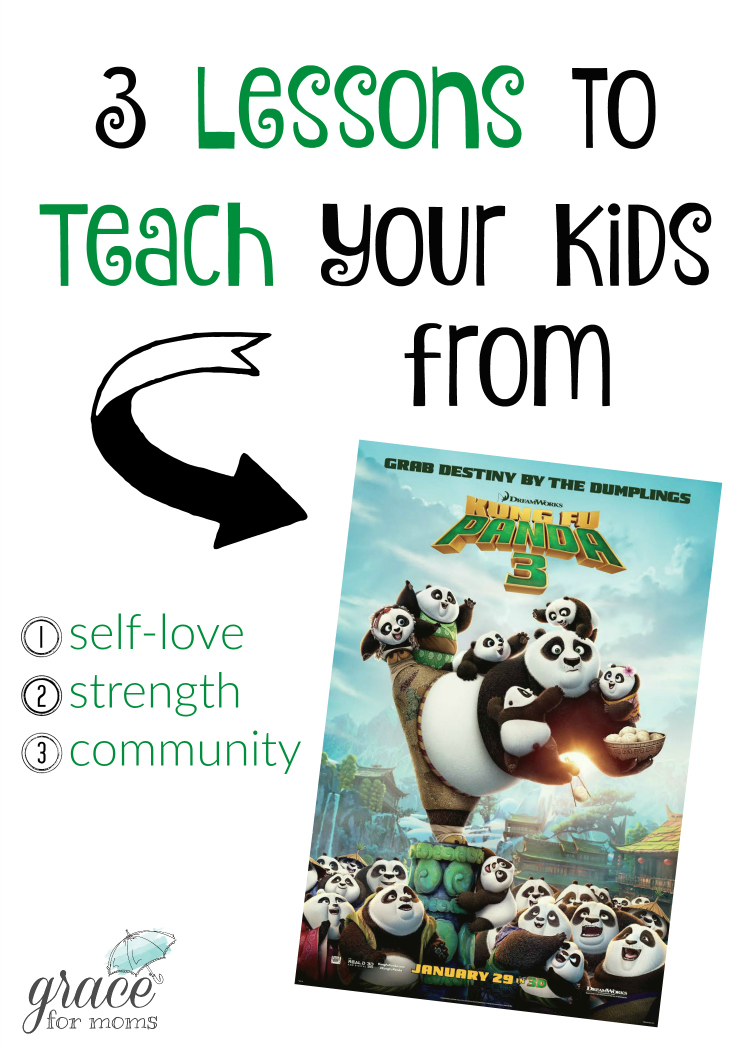 3 Lessons to Teach Kids from Kung Fu Panda 3