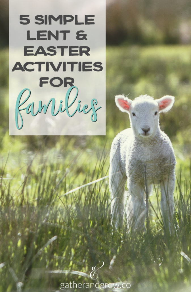 lent and easter activities for families