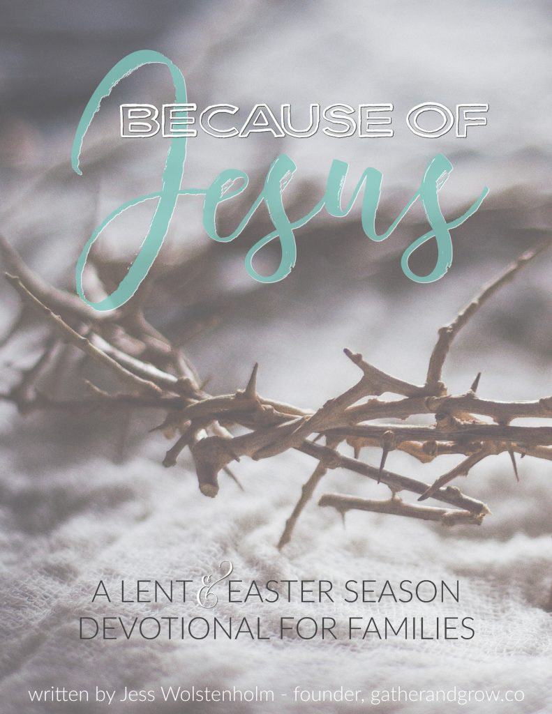 Lent and Easter season devotional for families. This weekly study is super simple, will teach your family how to observe Lent and has a corresponding Podcast!