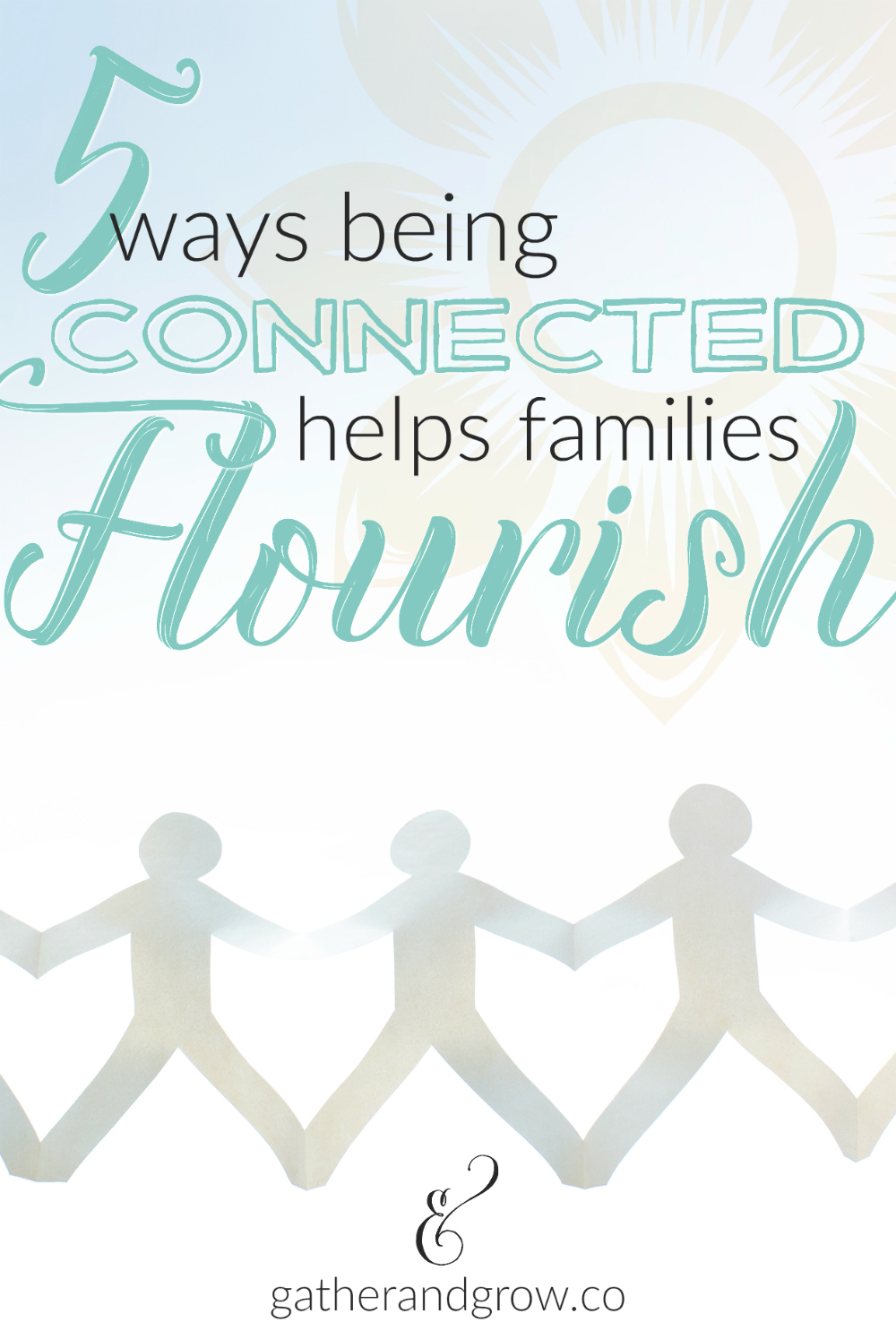 being connected helps families