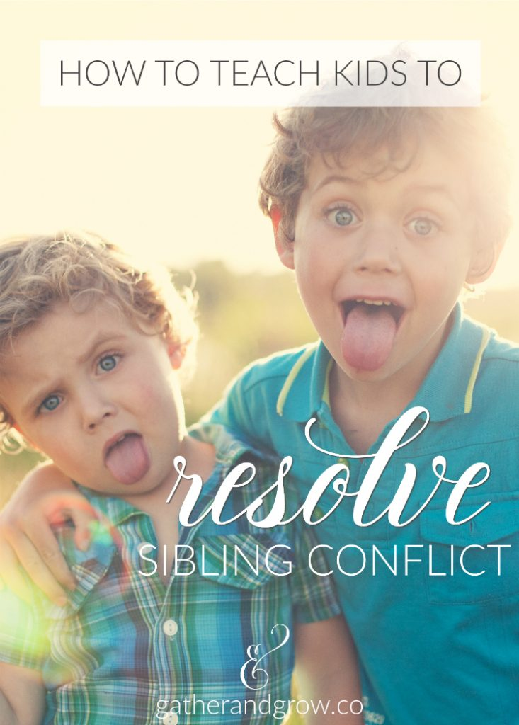 Resolve Sibling Conflict