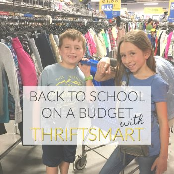 Back to School on a Budget with ThriftSmart