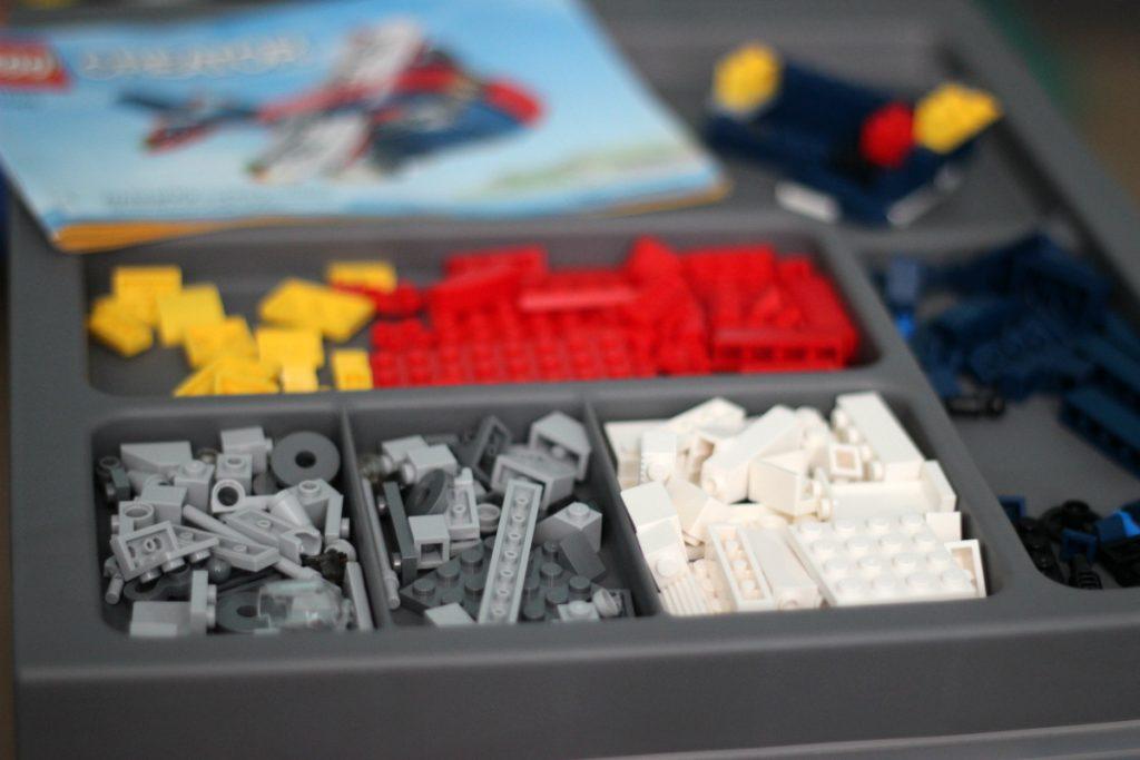 Sorting and Storing LEGOS