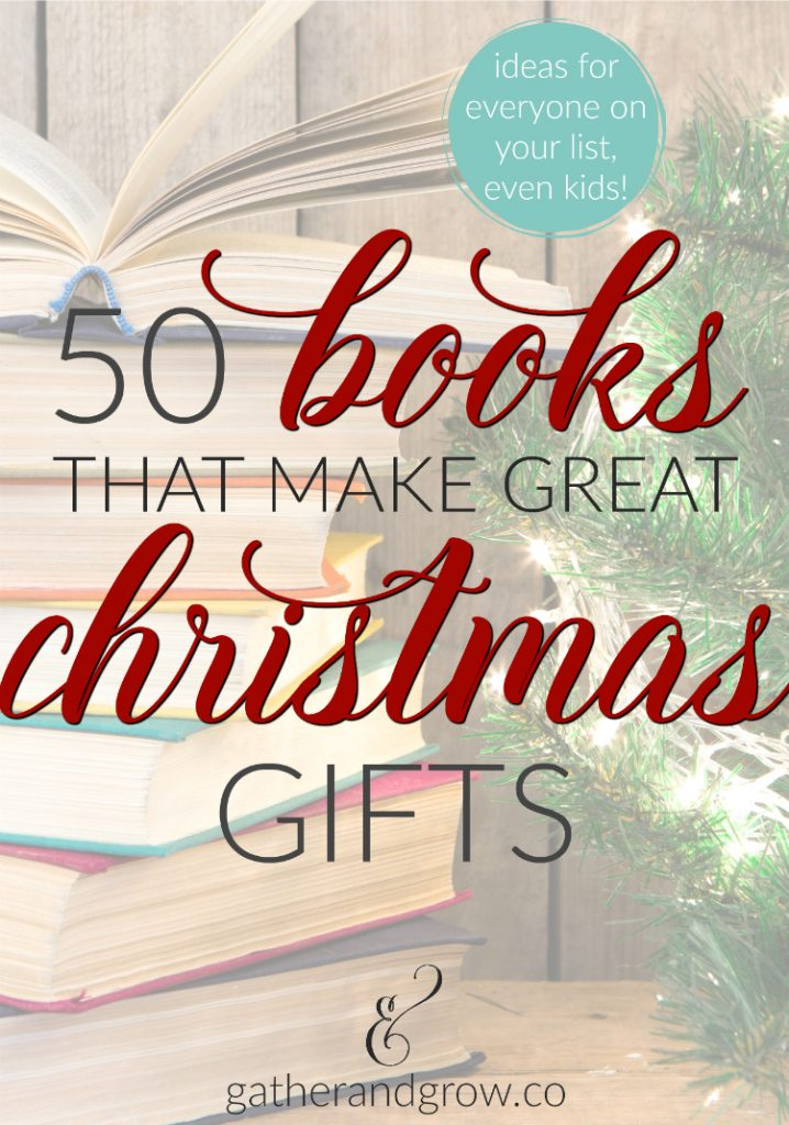 Books christmas gift ideas