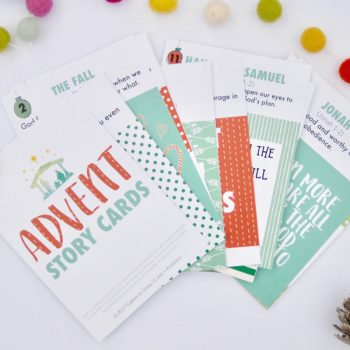 A Meaningful Christmas Countdown: How to Use Advent Story Cards
