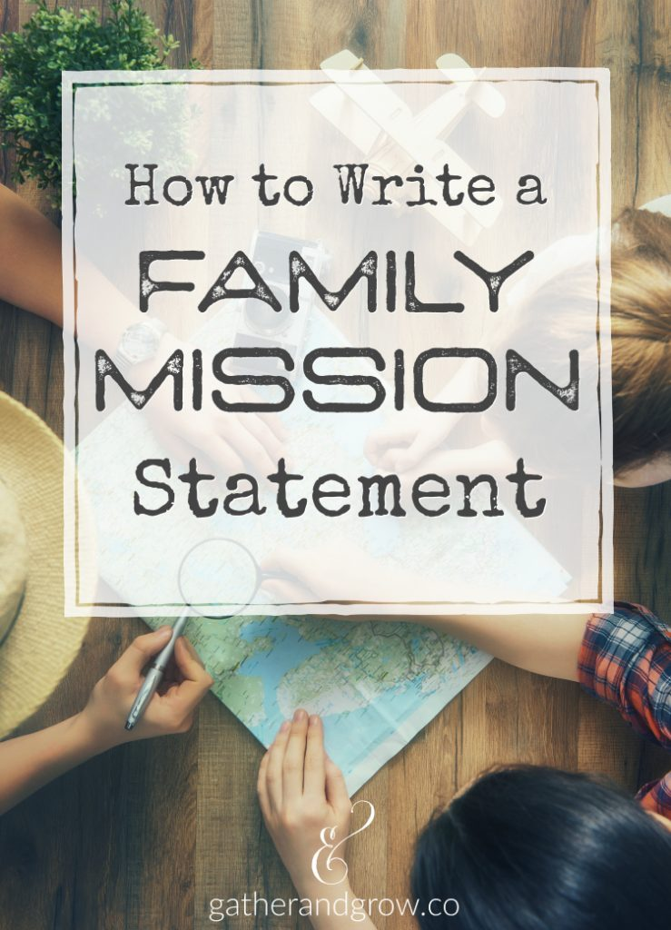 Discover the story God is writing for your family. Learn how to write a family mission statement with this family Bible study and mission statement guide.